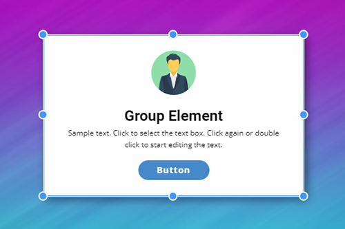 Group Website Element