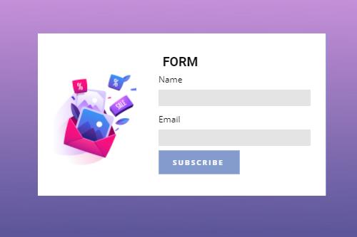 Form Builder Website Element