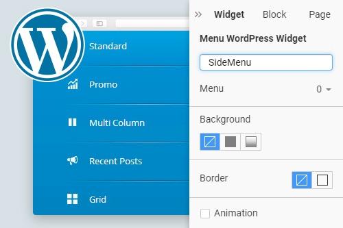 Menu WordPress Widget