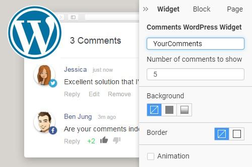 Comments WordPress Widget