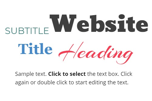 How to Work With Texts While Building Web Pages