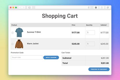 Shopping Cart Template