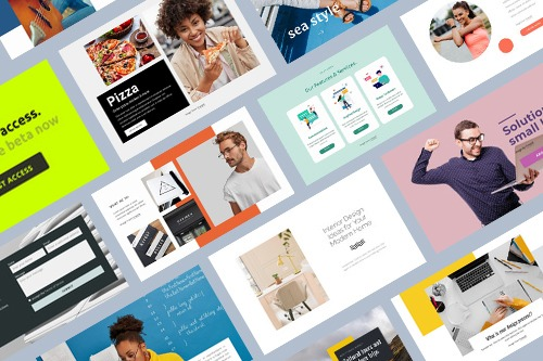 How to Use Preset and Designer-Made Blocks To Build Web Pages