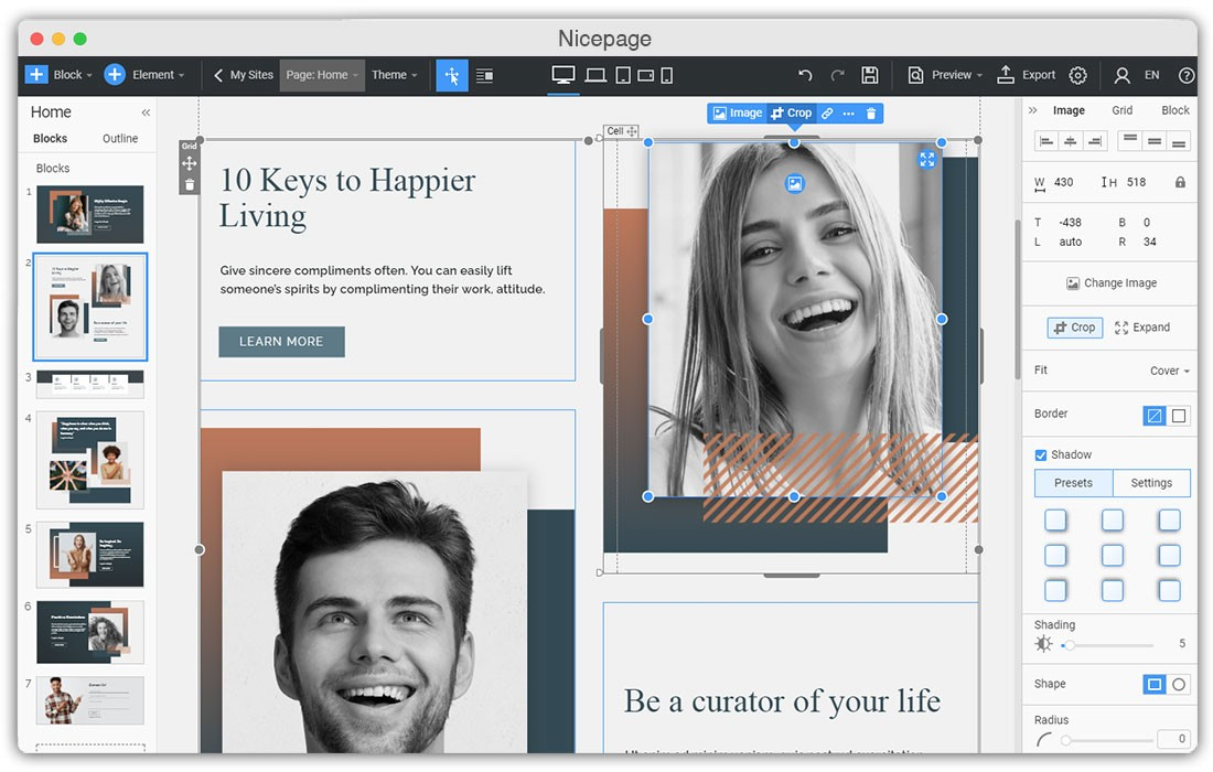 Design Any Website With Powerful WYSIWYG Editor And Online HTML Editor